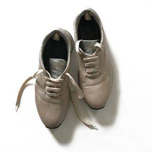 OFFICINE CREATIVE Sneaker, Metallic Snakeskin, 8